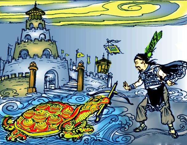 An Dương Vương (ngọc trai, giếng nước)
