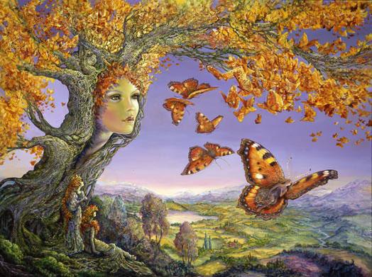 Truyện cổ về ba cây cổ thụ và điều ước của chúng