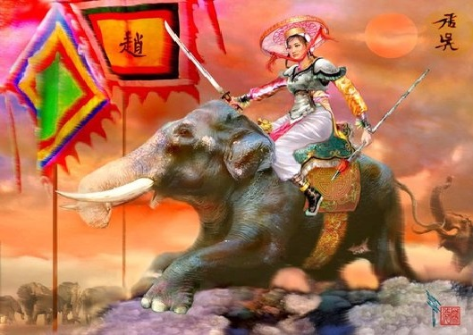 Lệ Hải Bà Vương Triệu Thị Trinh (truyền thuyết bà Triệu)