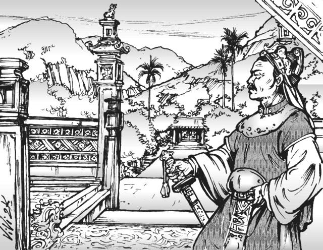 Lương Hữu Khánh hay Thượng thư bộ Binh nổi tiếng thần đồng ăn khỏe