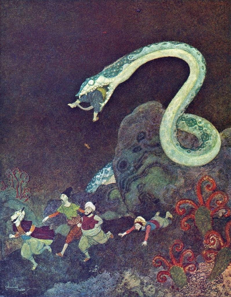 Sự tích con rắn