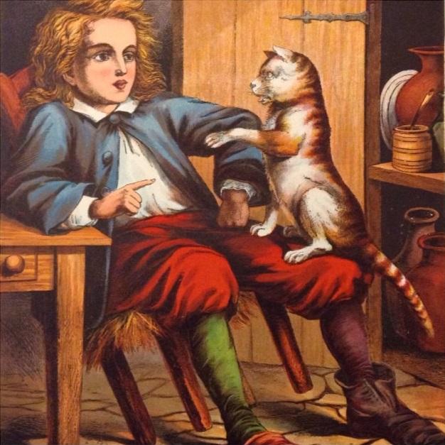 Gã xay bột nghèo khó và chú mèo đốm