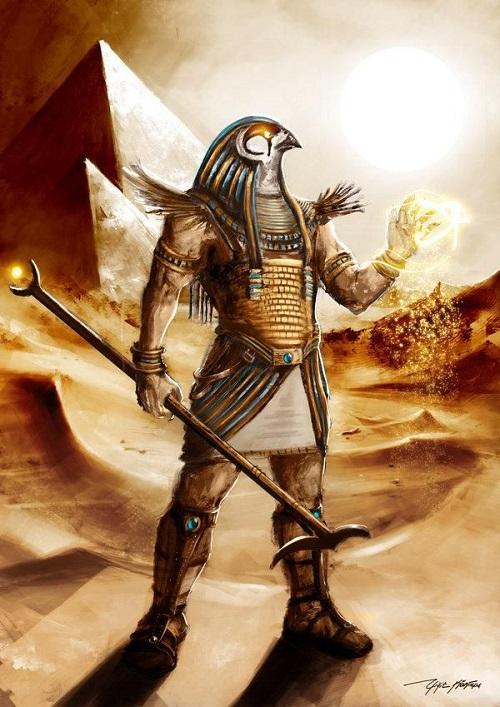 Thần Ra - thần Mặt Trời
