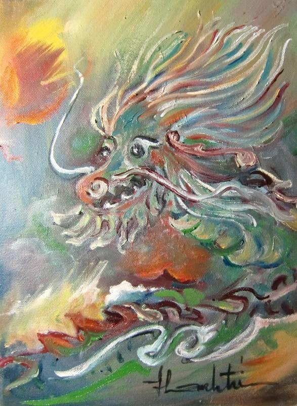 Truyện Lý Vĩ đốt nhà của bộ hạ thần nước
