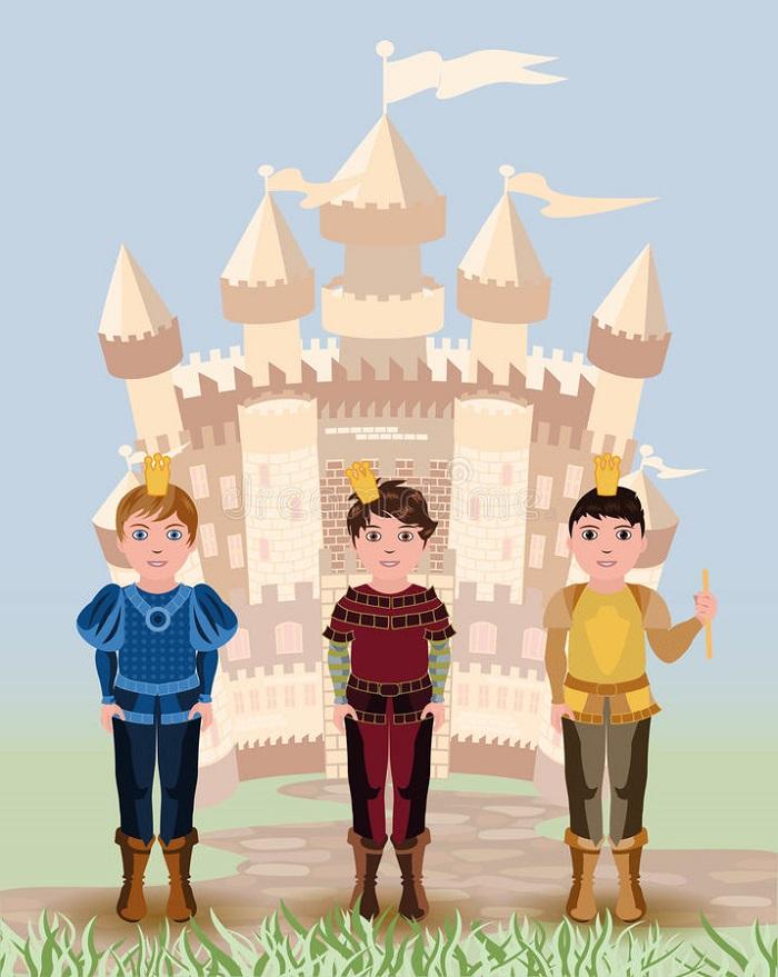 Ba hoàng tử lười