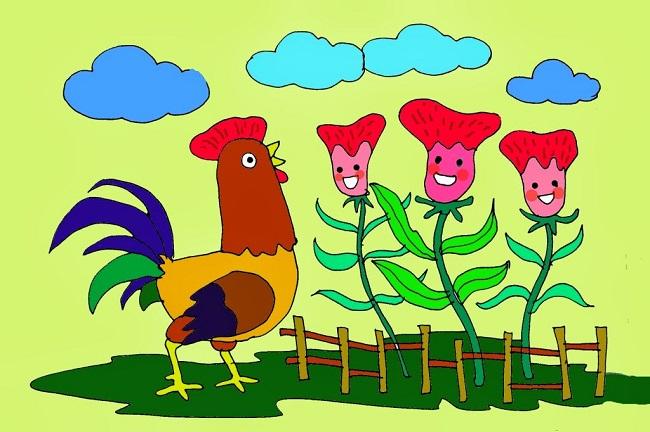 Sự tích hoa mào gà