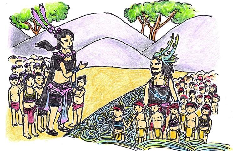 Truyền thuyết con Rồng cháu Tiên