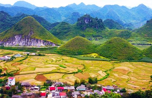 Sự tích Núi đôi - núi cô tiên ở Hà Giang