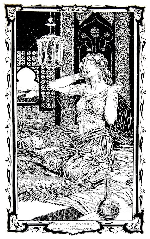Chương 23: Công chúa Badoure sau khi xa cách với hoàng tử Camaralzaman