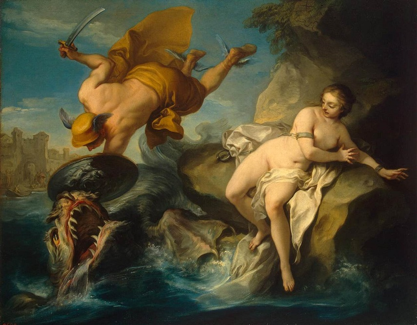 Persée cứu công chúa Andromède