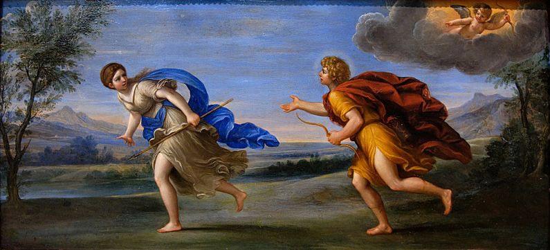 Mối tình của Apollon với tiên nữ Daphné