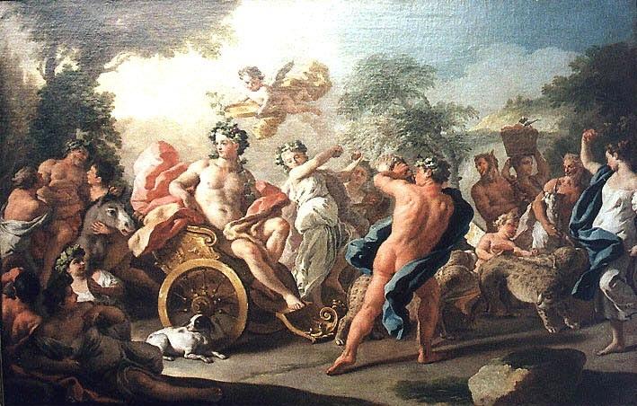 Dionysos trở thành một vị thần Olympe