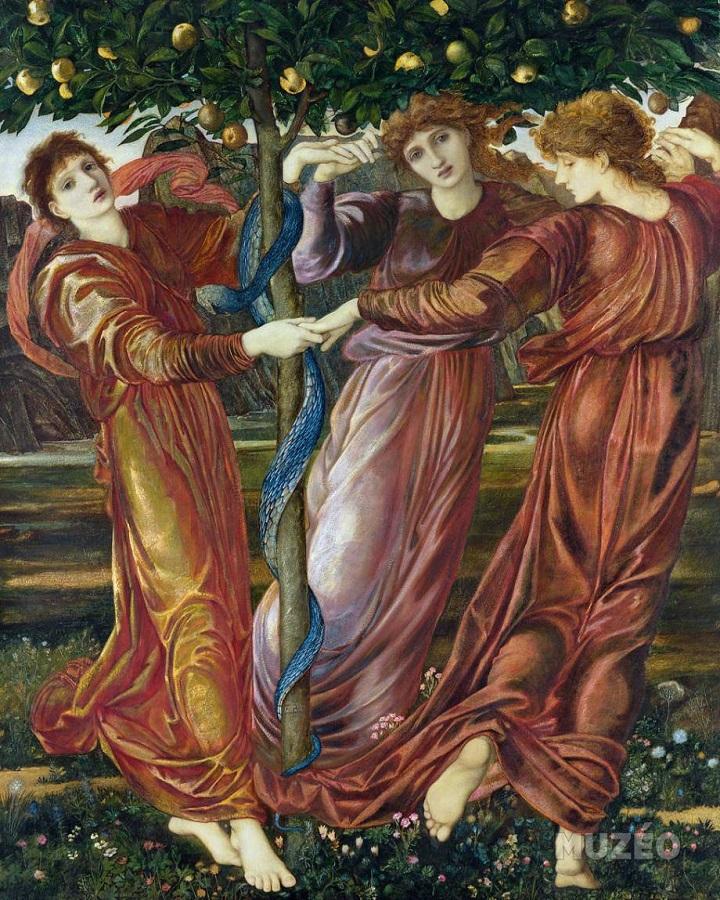 Đoạt những quả táo vàng của chị em Hespérides