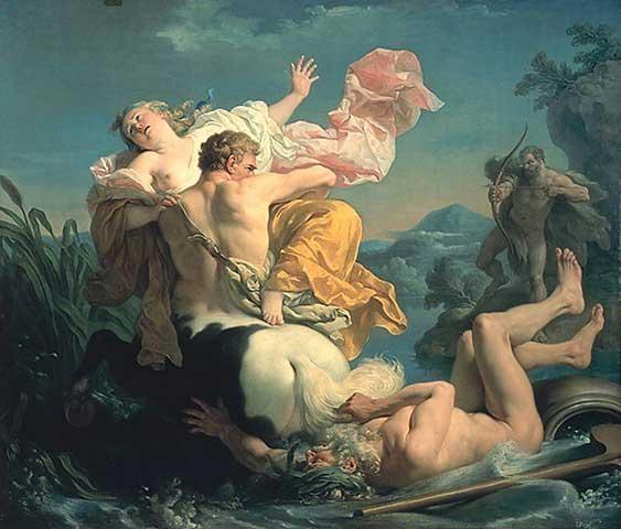 Héraclès cưới Dejánire thực hiện lời hứa với vong hồn Méléagre
