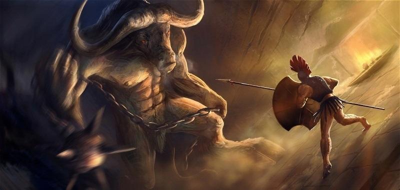 Thésée trừng trị con quái vật Minotaure