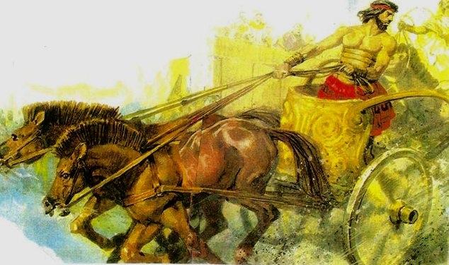 Pélops sinh cơ lập nghiệp ở đất Hy Lạp