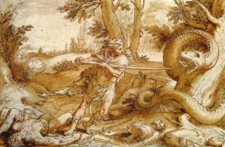 Truyện hai vợ chồng Cadmos biến thành rắn