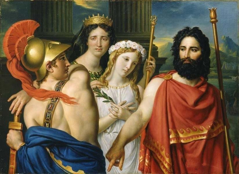 Achille nguôi giận, hòa giải với Agamemnon