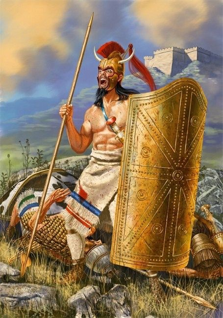 Ajax Lớn, con của Télamon, tự tử