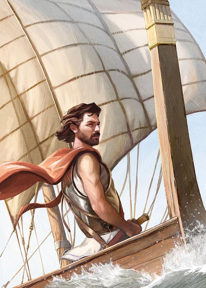 Chuyện về Odyssée và người con trai, Télémaque