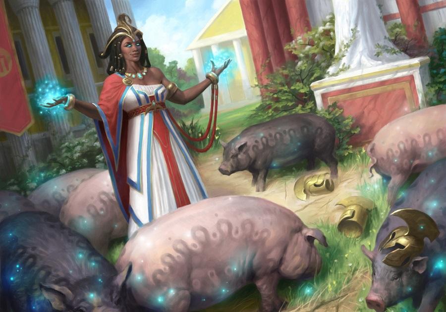 Cứu đồng đội thoát khỏi kiếp lợn trong tay tiên nữ - phù thủy Circé