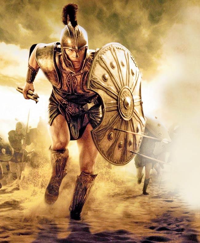 Những gì đã xảy ra trong chín năm giao tranh (Cuộc chiến thành Troie)