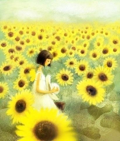 Sự tích hoa Hướng Dương (hoa mặt trời)