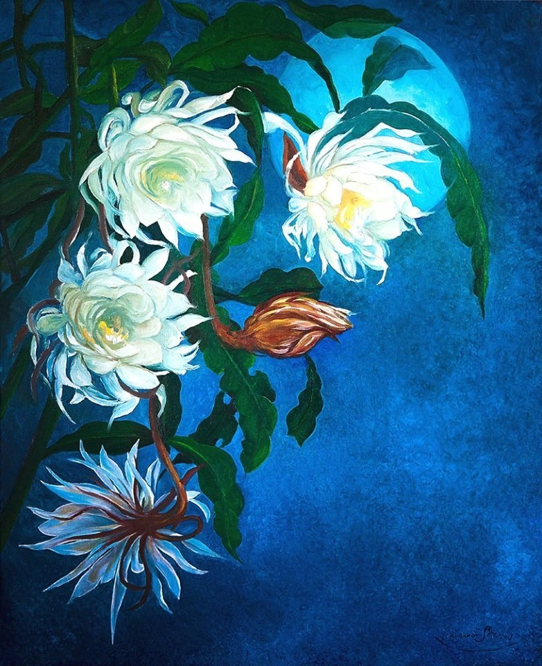 Sự tích hoa Quỳnh, hoa Giao