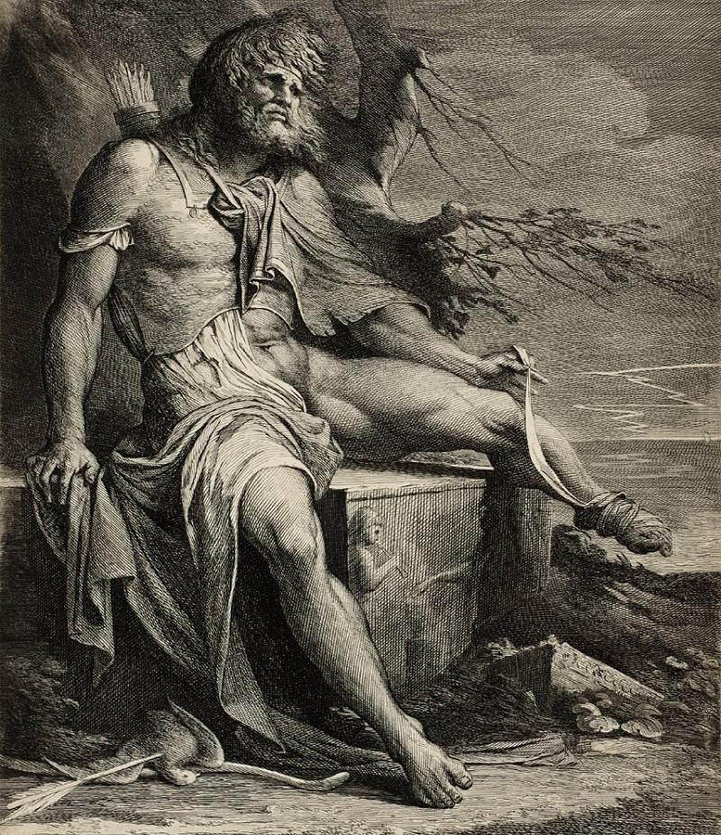 Tướng Philoctète bị bỏ lại ở dọc đường