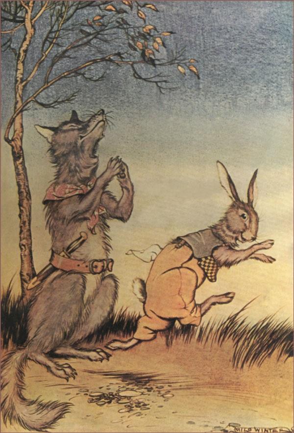 Con chó và con thỏ