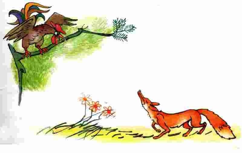 Gà rừng và cáo