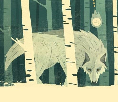 Lông mi của chó sói