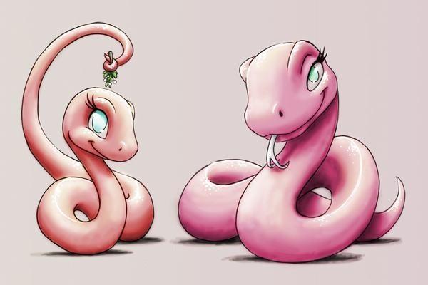 Con rắn thần