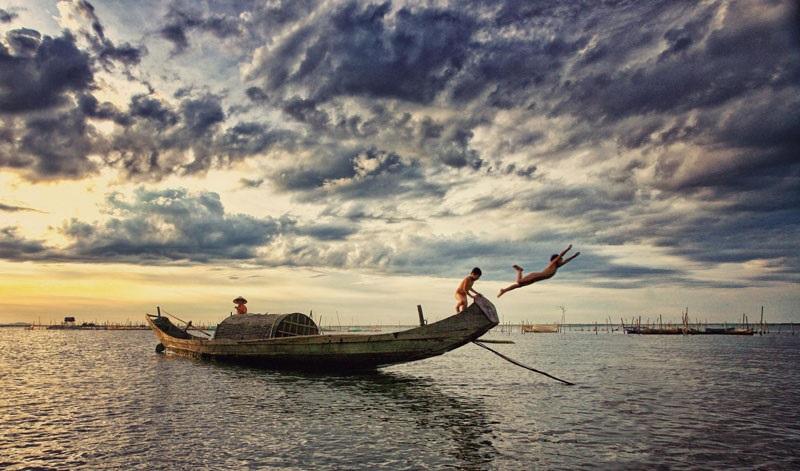 Sóng thần ở phá Tam Giang