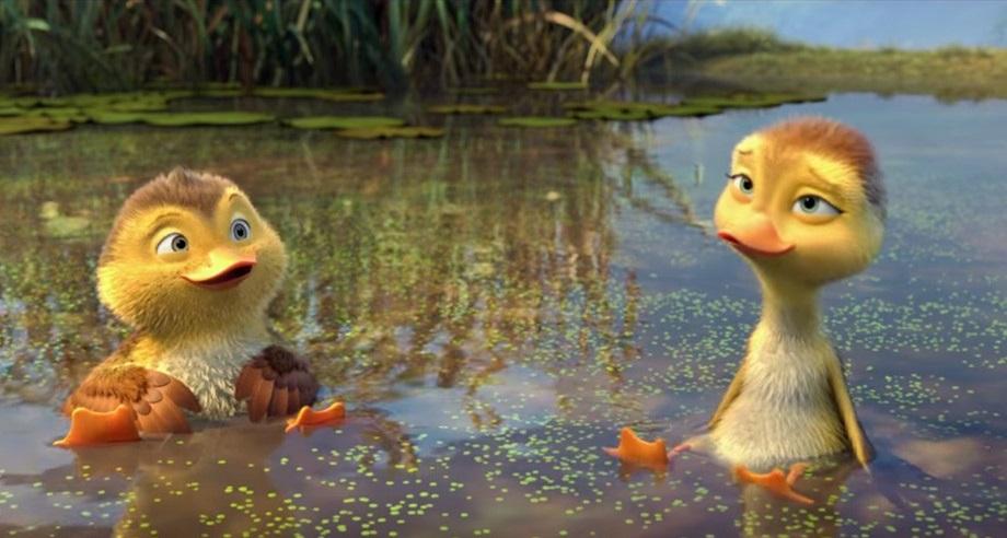 Truyện hai con ngỗng chung tình