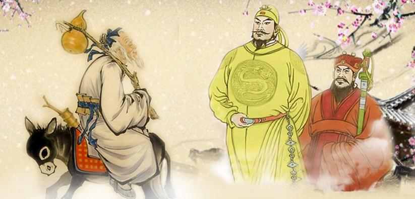 Trương Quả Lão cưỡi lừa ngược