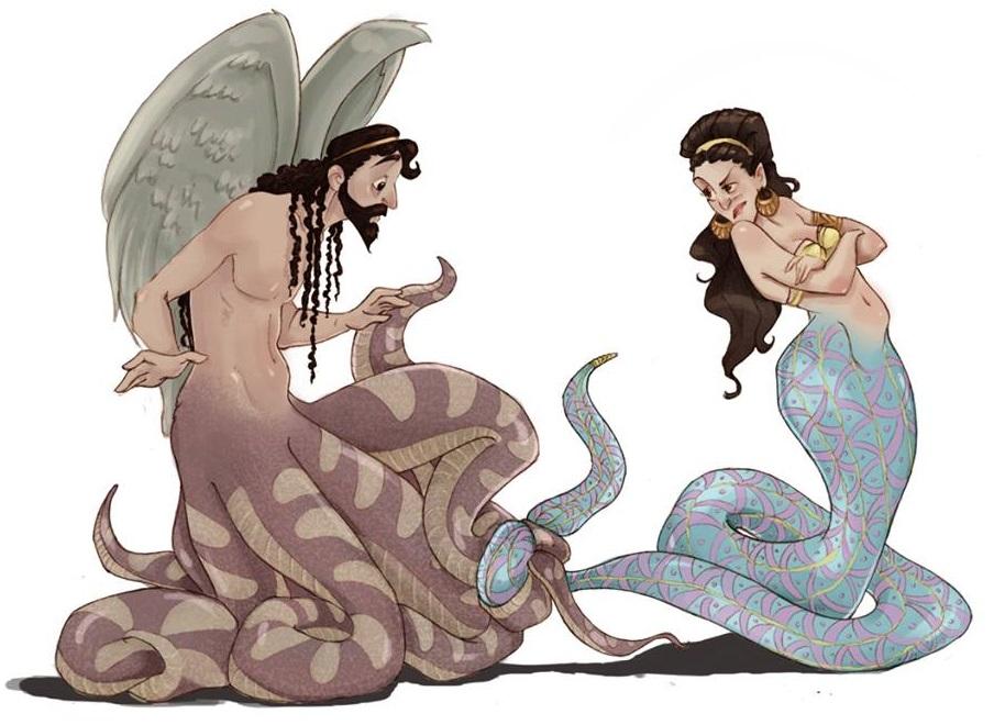Typhon và Echidna
