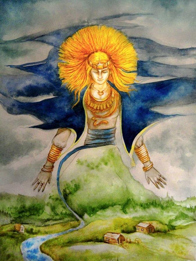Nữ thần mặt trời Saule