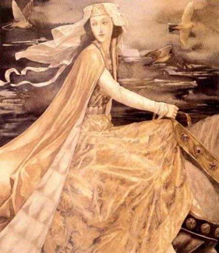 Manawydan và Pryderi -  câu truyện thứ 3 trong chuỗi Mabinogi