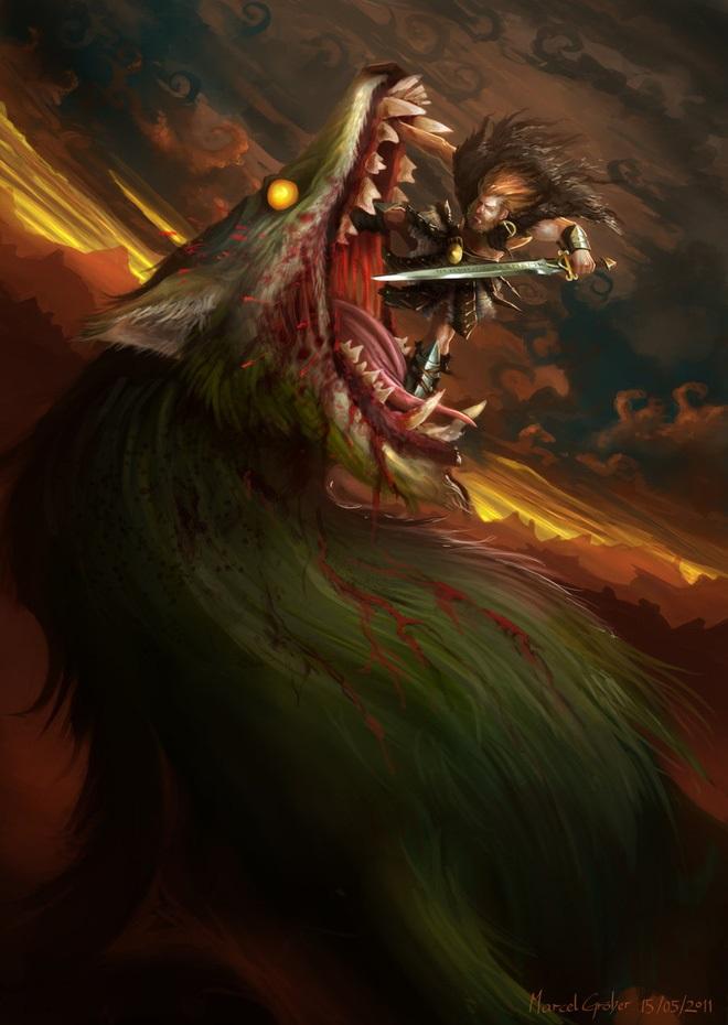 Truyền thuyết về Fenrir - nguyên nhân của Ragnarok
