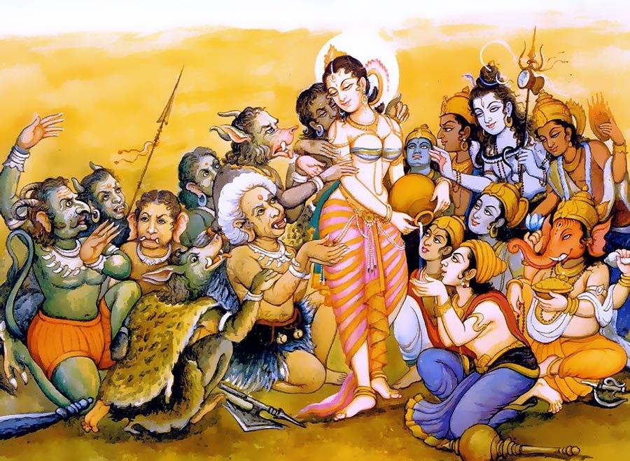 Mohini - hóa thân nữ hiếm hoi của Vishnu