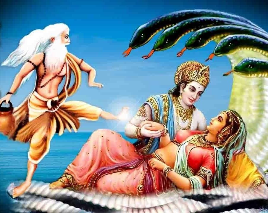Thử thách của Bhrigu tìm vị thần vĩ đại nhất và chuyện Vishnu tìm vợ