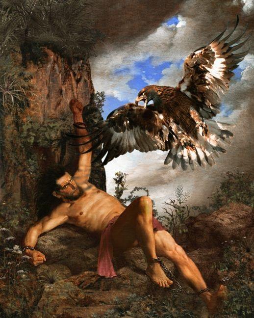 Nghi án mục đích của Zeus với sự trừng phạt vị thần Prometheus