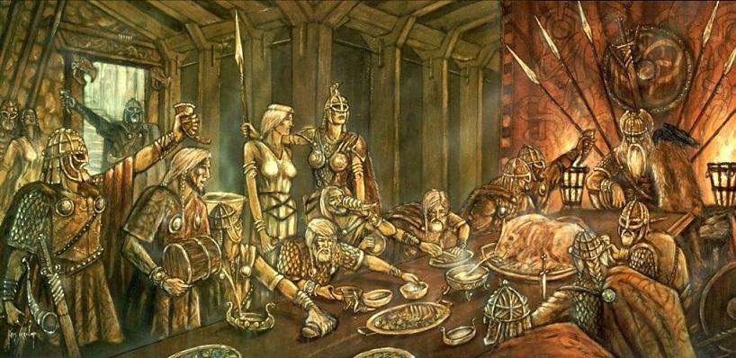 Valhalla - Thiên đường của người Viking
