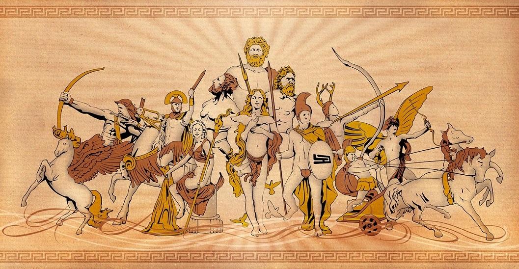 Các vị thần của người La Mã trên đỉnh Olympus