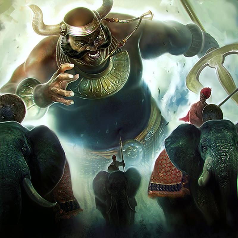 Chiến binh hùng mạnh Kumbhakarna