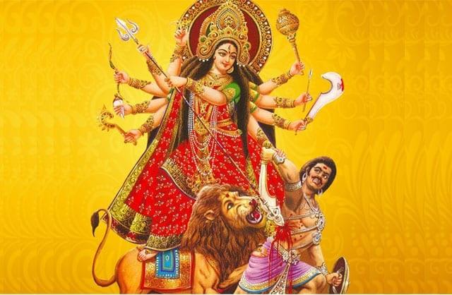 Hóa thân Durga của nữ thần Mẹ Parvati