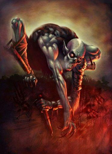 Jinn Ghoul - Một loại ma cà rồng Ba Tư