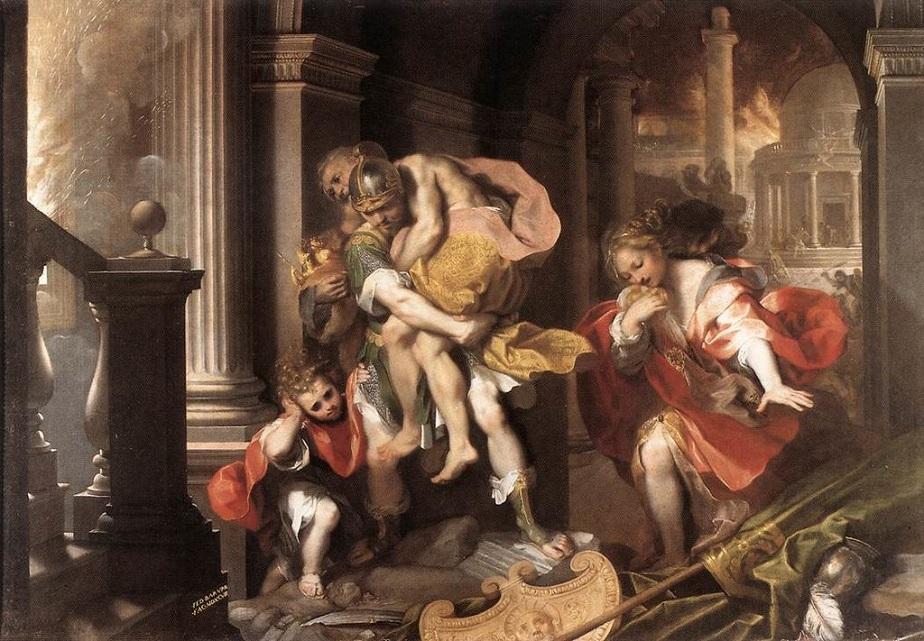 Người anh hùng Aeneas