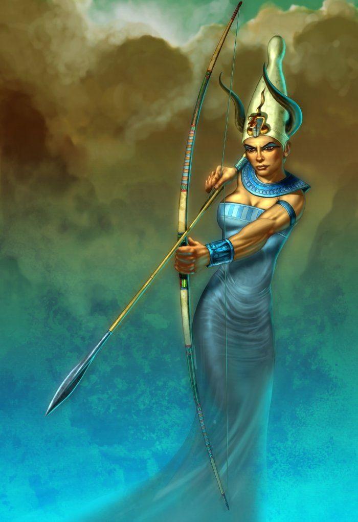 Nữ thần sông Nile - Satis